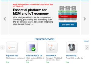 Pantalla MarketPlace IBM